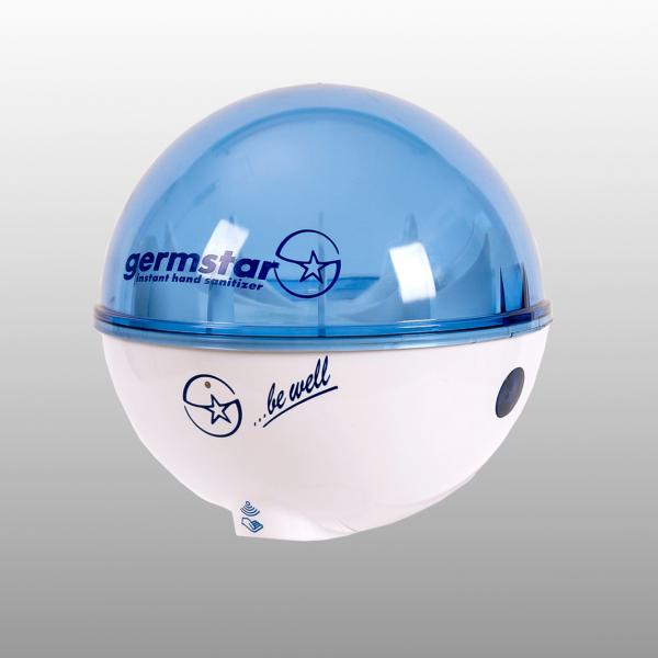 Germstar® Desinfektionsspender weiß-blau