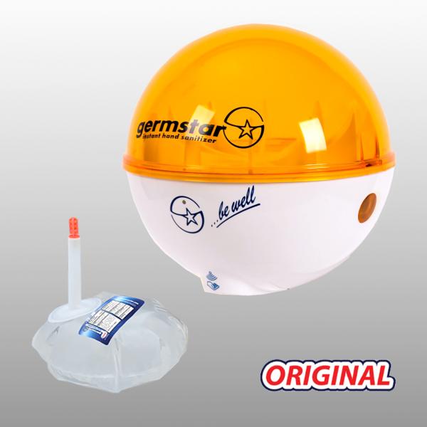 Germstar® Desinfektionsspender Starterkit weiß-orange Original