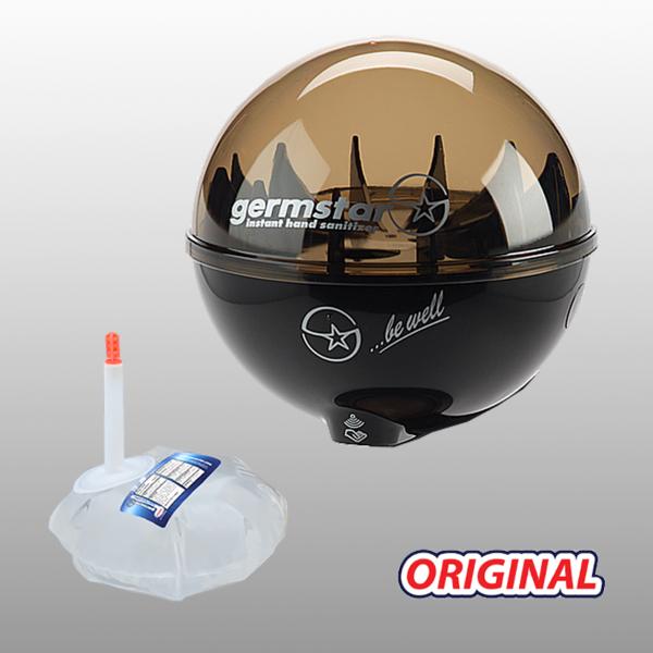 Germstar® Desinfektionsspender Starterkit schwarz-anthrazit Original