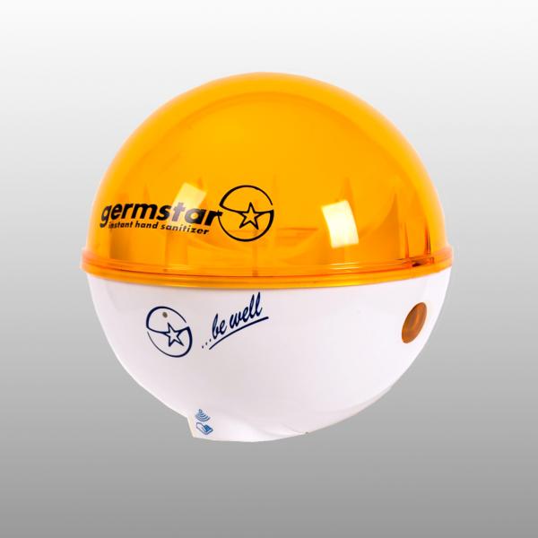 Germstar® Desinfektionsspender weiß-orange
